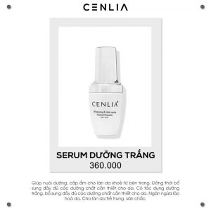 Serum face cenlia